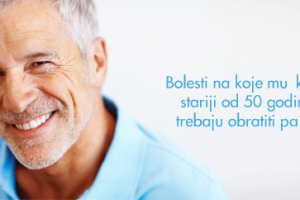 Bolesti na koje muškarci stariji od 50 godina trebaju obratiti pažnju