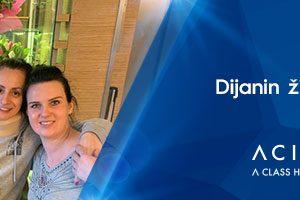 Priča Dijane Pantić o njenom liječenju u bolnici Acibadem
