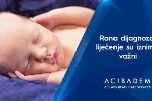 Najčešći uzrok kod novorođenčadi je manjak kisika u mozgu tokom rođenja